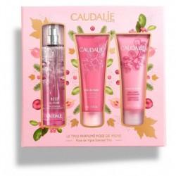 Caudalie Cofanetto Profumato Rose de Vigne - Il Trio profumo + crema corpo + gel doccia