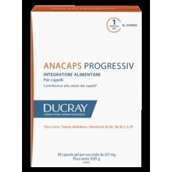 Ducray Anacaps Progressiv integratore per la salute dei capelli 30 capsule