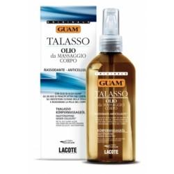 Guam Talasso Olio da massaggio corpo rassodante anticellulite 200 ml