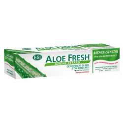 ESI Aloe Fresh Menta Crystal dentifricio in gel con cristalli retard rinfrescanti 100 ml