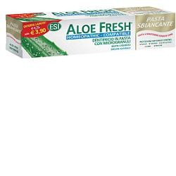 ESI Aloe Fresh Homeopathic dentifricio sbiancante con microgranuli 100 ml