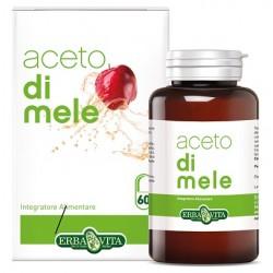 Erba Vita Aceto di Mele integratore per grassi e colesterolo 60 capsule