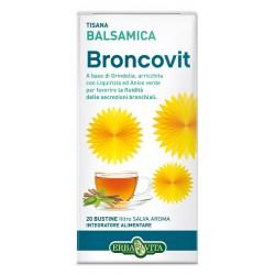 Erba Vita Broncovit Tisana balsamica fluidificante del muco 20 bustine