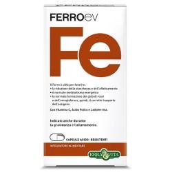 Erba Vita FerroEV Fe integratore a base di ferro per carenze e gravidanza 500 mg