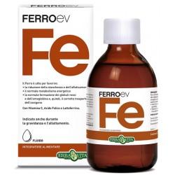 Erba Vita FerroEV Fe integratore di ferro per carenze e gravidanza 250 ml