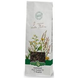 Erba Vita Karkadè fiori del Sudan prima qualità taglio per tisana digestiva 100 g 100 g