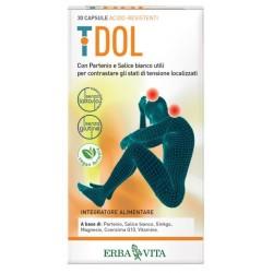 Erba Vita T Dol integratore per tensione articolare e muscolare 30 capsule