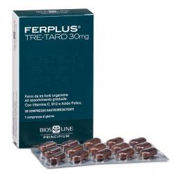 Bios Line Principium Ferplus Tre-Tard 30 mg integratore di ferro 30 compresse