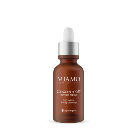 Miamo Collagen Boost Intense Serum - Siero viso al collagene antirughe e rassodante 30 ml