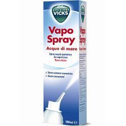 Vicks Vapospray Acqua di Mare - Spray ipertonico per lavaggi nasali 100 ml