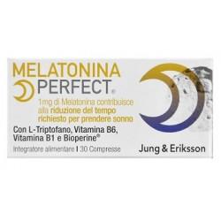 Jung & Eriksson Melatonina Perfect integratore per sonno e rilassamento 30 compresse