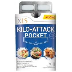 Xls Kilo-Attack Pocket - Integratore alimentare per il controllo del peso 10 compresse