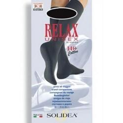Solidea Relax gambaletto unisex compressione graduata 140 den tg.3 nero