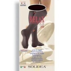 Solidea Relax gambaletto unisex compressione graduata 70 den tg.1 blu