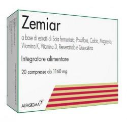 Zemiar 1160 mg - Integratore antiossidante 20 compresse