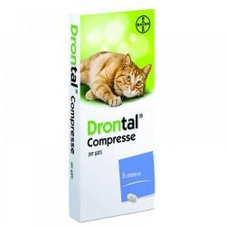 Drontal Farmaco per infestazioni da nematodi nel gatto 8 compresse