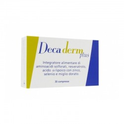 Decaderm Plus 30 compresse - Integratore antiossidante per il benessere di unghie e capelli