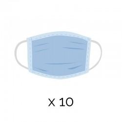 Mascherine Chirurgiche confezione da 10 mascherine