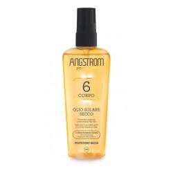 Angstrom Protect Olio secco solare spray protezione SPF 6 acceleratore di abbronzatura 150 ml