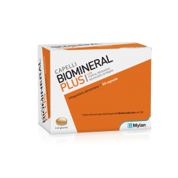 Biomineral Plus 60 capsule integratore per pelle e capelli