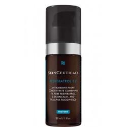 SkinCeuticals Resveratrol B E - Siero notte antiossidante con resveratrolo puro 30 ml