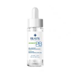 Rilastil Acnestil PB Gel - Siero viso sebonormalizzante e idratante per pelle mista e acneica 30 ml