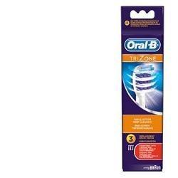 Oral-B testina di ricambio TriZone anti-placca 3 pezzi