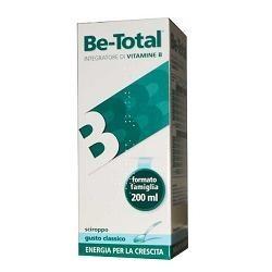 Be-Total Classico Sciroppo 200 ml - Integratore Alimentare di Vitamine B