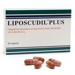 Liposcudil Plus 30 Capsule - Integratore con Riso Rosso per il Colesterolo
