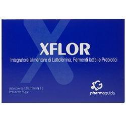 XFlor 12 Bustine - Fermenti Lattici per Bambini e Adulti