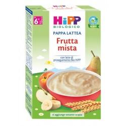Hipp Biologico Pappa Lattea Frutta Mista - Alimento per Svezzamento 250 g