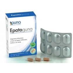 Epatoguna 32 Compresse - Integratore per il Benessere del Fegato