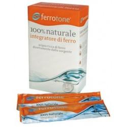Ferrotone 20 mg 14 Bustine - Integratore di Ferro 100% Naturale