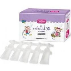 Nebial 3% 20 Flaconcini Soluzione Salina per Lavaggi Nasali per Bambini