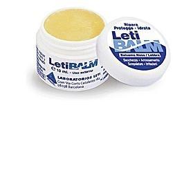 LetiBalm Adulti Balsamo Riparatore e Protettivo Naso e Labbra 10 ml