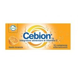 Cebion Arancia 10 Compresse Effervescenti - Integratore di Vitamina C