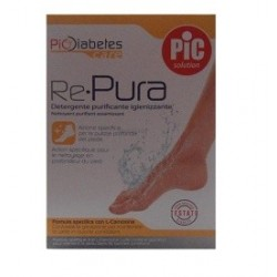 PIC Re-Pura detergente igienizzante per piede diabetico 200 ml