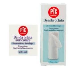 PIC DressFix Benda Orlata in Cotone per Medicazioni 5 cm x 5 m