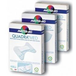 M-AID Quadra Med Dita Cerotto Traspirante con Disinfettante 6 Pezzi