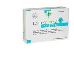 Estromineral Serena Plus 30 Compresse - Integratore Alimentare per la Menopausa