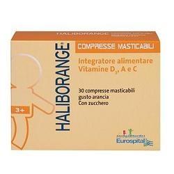 Haliborange 30 Compresse Masticabili Integratore per le Ossa dei Bambini