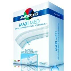 M-AID Maxi Med Cerotto a Taglio Traspirante Disinfettante 50x8cm