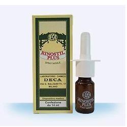 Rinostil Plus Spray Nasale Lubrificante con Acido Ialuronico 14 ml