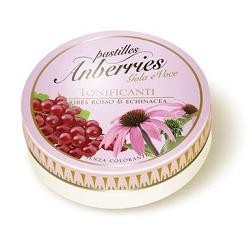 Anberries Ribes Rosso e Echinacea Caramelle per la Gola 55 g