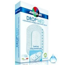 M-AID Drop Med Cerotto Traspirante con Disinfettante 10,5x30cm 3Pezzi