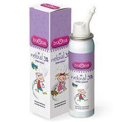 Nebial 3% Spray Nasale per Lavaggi Nasali Quotidiani per Bambini 100ml