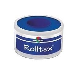 M-AID Rolltex Cerotto su Rocchetto per Fissaggio di Medicazioni 5mx5cm