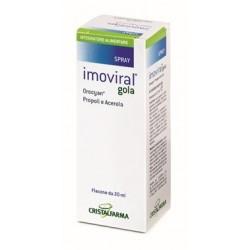 Imoviral Gola 20 ml - Integratore per il Benessere della Gola