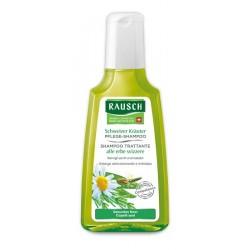 Rausch Shampoo Trattante alle Erbe Svizzere per Capelli Sani 200ml