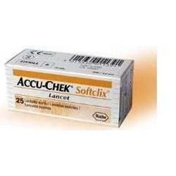Accu-Chek Softclix 25 lancette pungidito sterili per il test della glicemia